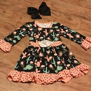 Other - Cactus girls boutique dress